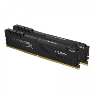 Kingston HyperX Fury Black 8GB(4GBx2) 2400MHz DDR4 Desktop RAM