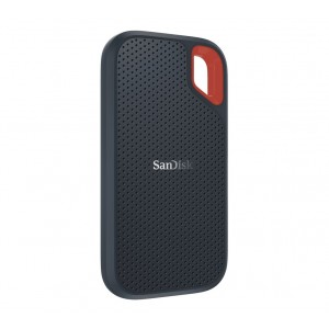 SanDisk Extreme 500GB External Portable SSD 550MB/s USB-C & USB-A IP55 Dust Water Shock Resistance USB3.1 Type C & Type A Connectivity for PC Mac 3yrs