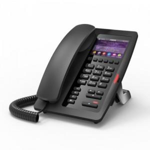Fanvil H5 Hotel / Office Enterprise IP Phone - 3.5' Colour Screen, 1 Line, 6 x Programmable Buttons, Dual 10/100 NIC, POE, 2 Years Warranty