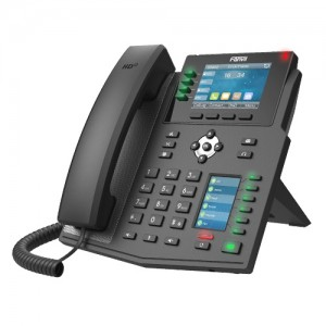 Fanvil X5U High End Enterprise IP Phone - 3.5' Colour Screen, 16 Lines, 40 x DSS Buttons, Dual Gigabit NIC,Bluetooth - 2 Years Warranty