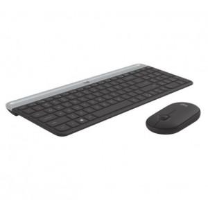 Logitech MK470 Slim Wireless Keyboard Mouse Combo Nano Receiver 1 Yr Warranty