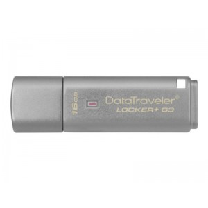 Kingston 16GB DataTraveler Locker + G3 USB 3.0 Flash Drive DTLPG3 Cloud Encrypted