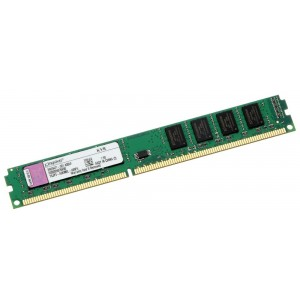 Kingston Value Low Profile 8GB(8GBx1) 1600MHz DDR3 Desktop RAM KVR16LN11/8