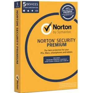 Norton Security Premium OEM, 5 Device 1 Year