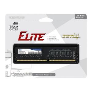 Team Group DDR4 2400MHz PC4-19200 8GB (8GBx1) DIMM 16-16-16-39 1.2V Elite