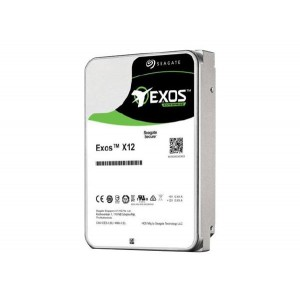 "Seagate EXOS HDD Enterprise Capacity 3.5"" Internal 7200RPM, 5 Year Warranty - 512E - 12TB SATA"