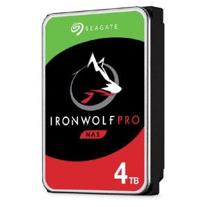 Seagate IronWolf Pro NAS 4TB ST4000NE001 3.5 inch Internal SATA3 7200rpm 128MB Cache 6Gb/s 5 Year Wty
