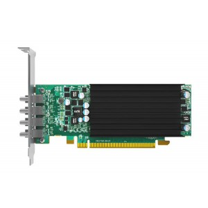 Matrox C-Series C420 LP PCIe x16 Quad-Output Graphics Card (4GB)