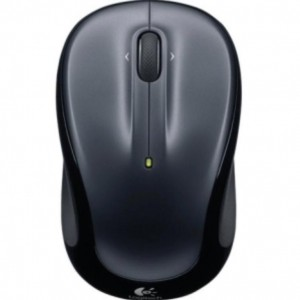Logitech Wireless Mouse M325, 5 Button, Optical, USB Receiver, Scroll Wheel, Colour: Dark Silver