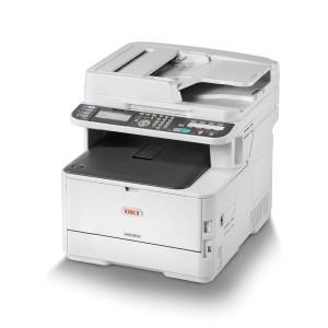 OKI MC363dn Colour A4 26 - 30ppm Network AirPrint, Google Cloud Print, Duplex 350 sheet +options 4-in-1 Multi Function Printer