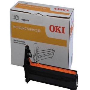 OKI EP Cartridge (Drum) Black 30,000 Pages for MC770/780