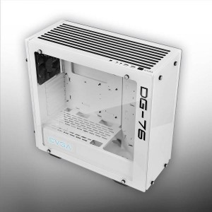 EVGA DG-76 Alpine White Mid-Tower, 2 Sides of Tempered Glass, RGB LED and Control Board, Gaming Case