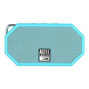 Altec Lansing Mini H20 3 Aqua Blue EVERYTHING PROOF Rugged & waterproof Bluetooth speaker 6 hrs Battery