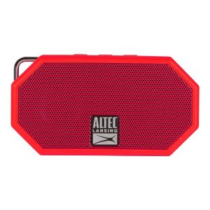Altec Lansing Mini H20 3 Red EVERYTHING PROOF Rugged & waterproof Bluetooth speaker 6 hrs Battery