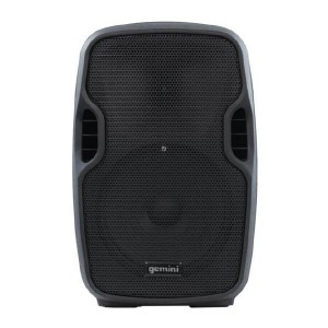 """Gemini AS-08TOGO Portable PA speaker system (8"""" Active battery-powered loudspeaker   500W Peak Power   Bluetooth   Wired microphone)"""