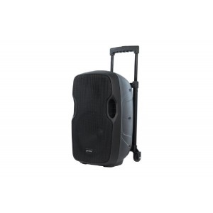 """Gemini AS-10TOGO Portable PA speaker system (10"""" Active battery-powered loudspeaker   1000W Peak Power   Bluetooth   Wired microphone)"""
