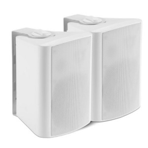 Shintaro 5.25 inch Powered Indoor Wall Speakers (Active/Passive) Ideal for boardrooms & classrooms requiring increased volume from projectors, TV's & IFPs