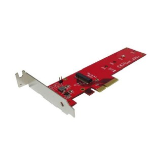 Shintaro PCIE 3.0 to Host Adapter for M.2 SSD LP&FH brackets included