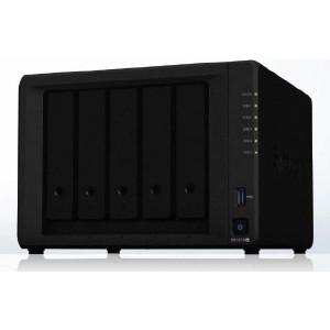 "Synology DiskStation DS1019+ 5-Bay 3.5"" Diskless 2xGbE NAS (Tower) Intel Atom Quad Core 1.4GHz, 8GB RAM,2xUSB3,1x eSATA, Scalable.3 year Wty"