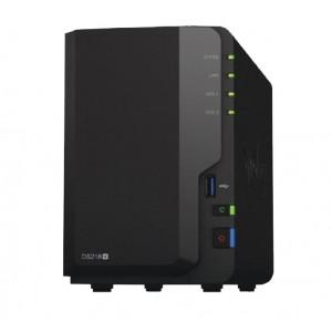 """Synology DiskStation DS218+ 2-Bay 3.5"""" Diskless 1xGbE NAS (HMB),Intel Celeron J3355 dual-core 2.0GHz,USB3.0 x3, eSATA  x 1"""