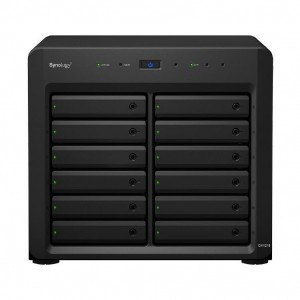 """Synology Expansion Unit DX1215 12-Bay 3.5"""" Diskless NAS for Scalable Models (SMB/ENT)"""