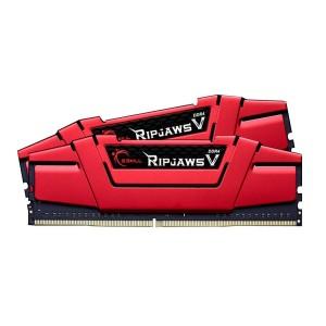 G.Skill Ripjaws V Red 16GB (2x8GB) Dual Channel RAM KIT DDR4 3000MHz C15 Gaming Desktop Memory PC4-24000 1.35V F4-3000C15D-16GVR