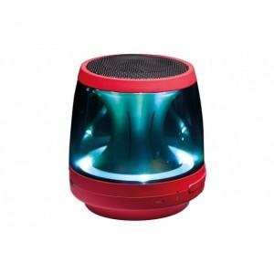 LG PH1R Bluetooth Speaker (RED)- LED Mood Lighting, Speaker Phone, Aux in, Built in Micphone