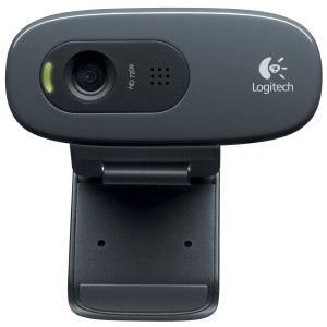 Logitech C270 720P HD USB Webcam Web Camera with Microphone Skype for PC Mac 960-000584