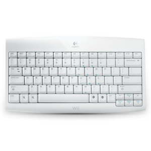 Logitech Cordless Keyboard For Wii English Layout Wireless Nintendo