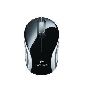 Logitech M187 Wireless Mini Mouse - Black