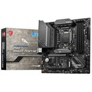 MSI MAG B560M MORTAR Intel LGA1200 mATX Motherboard