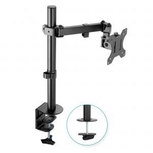 mbeat® activiva ErgoLife Single Monitor Screen Double Joint Monitor Arm