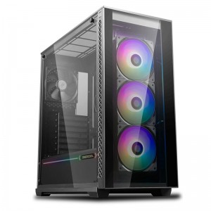 Deepcool MATREXX 70 ARGB 3F Full Sized Tempered Glass ARGB Case W/ 3 Preinstalled ARGB Fans