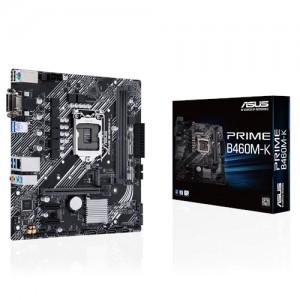 ASUS PRIME B460M-K mATX Motherboard Intel 10th Gen LGA1200 M.2 Support DDR4 1G Ethernet USB 3.2 Gen1 USB Type-A