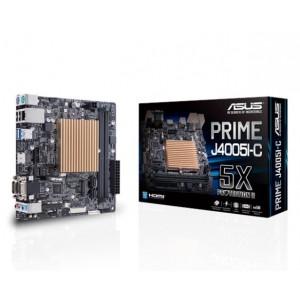 ASUS PRIME J4005I-C OEM Low-power, fan-less Motherboard for Intel Celeron® SoC J4005, 2 x DDR4, 2400/2133 MHz, 5X Protection II, HDMI/D-Sub/LVDS