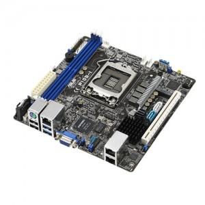 ASUS P10S-I MB, Socket 1151, Intel C232, 4x DDR4, 1x PCIE3.0 x16, 4x PCI, 6x SATA3, 4x USB3.0, VGA, ITX, Dual GbE