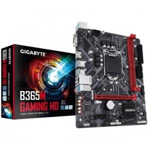 Gigabyte B365M GAMING HD LGA1151 9Gen mATX MB 2xDDR4 2xPCIe HDMI M.2 4xSATA 6xUSB3.1 6xUSB2 GbE LAN ~GA-B360M-H LS