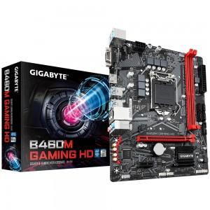 Gigabyte B460M GAMING HD mATX Motherboard 2xDDR4 10th Gen LGA1200 1xM.2 4xSATA RAID LAN (1000/100 Mbit) 2xPCIE HDMI 6xUSB3.2