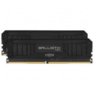 Crucial Ballistix MAX 32GB (2x16GB) DDR4 UDIMM 4400MHz CL19 Black Aluminum Heat Spreader Intel XMP2.0 AMD Ryzen Desktop PC Gaming Memory