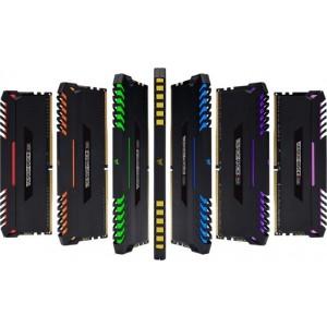 Corsair Vengeance RGB 16GB (2x8GB) DDR4 2666MHz C16 Desktop Gaming Memory (LS)