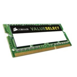 Corsair 8GB (1x8GB) DDR3L SODIMM 1600MHz 1.35V 9-9-9-24 204pin Notebook Memory