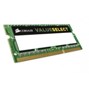 Corsair 4GB (1x4GB) DDR3L SODIMM 1600MHz 1.35V 11-11-11-28 204pin Notebook Memory