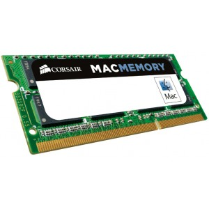 Corsair 4GB (1x4GB) DDR3 SODIMM 1333MHz 1.5V Memory for MAC Notebook Memory RAM