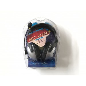 Cyclone MIC-600V Vibration Gaming Headphone Headset with Mic Stereo 3.5mm