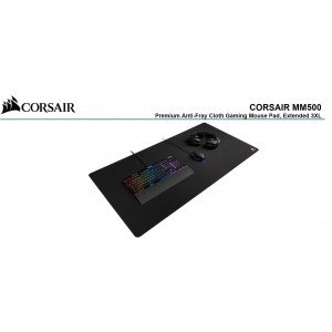Corsair MM500 EXTENDED 3XL Anti-Fray and Comfort Gaming, 1220mm x 610mm x 3mm GAMING MOUSE MAT