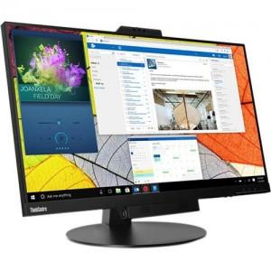 LENOVO ThinkCentre Tiny-in-One G4 27' IPS QHD LED Monitor - 2560x1440, USB3.0, DP, Height Adjustable, Webcam, Tilt, Swivel, Pivot, VESA,3YR 11JHRAR1A