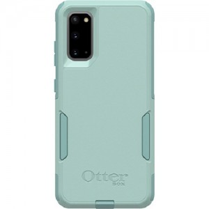 OtterBox Commuter Series Case For Samsung Galaxy S20 Mint Way Teal - Thin, Soft Inner Slipcover, Dirt, Dust Protection