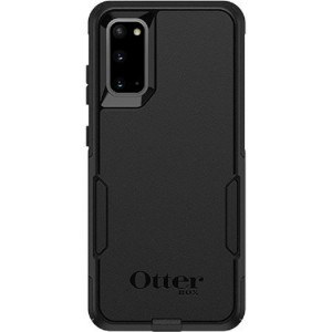 OtterBox Commuter Series Case For Samsung Galaxy S20 5G Black - Thin, Soft Inner Slipcover, Dirt, Dust Protection