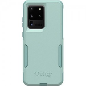 OtterBox Commuter Series Case For Samsung Galaxy S20 Ultra 5G Mint Way Teal - Thin, Soft Inner Slipcover, Dirt, Dust Protection