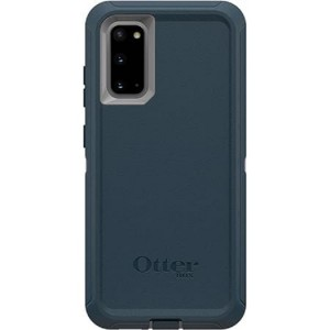 OtterBox Defender Series Case For Samsung Galaxy S20 Gone Fishin Blue - Multi-layer Defense, Dust and Dirt Prevent